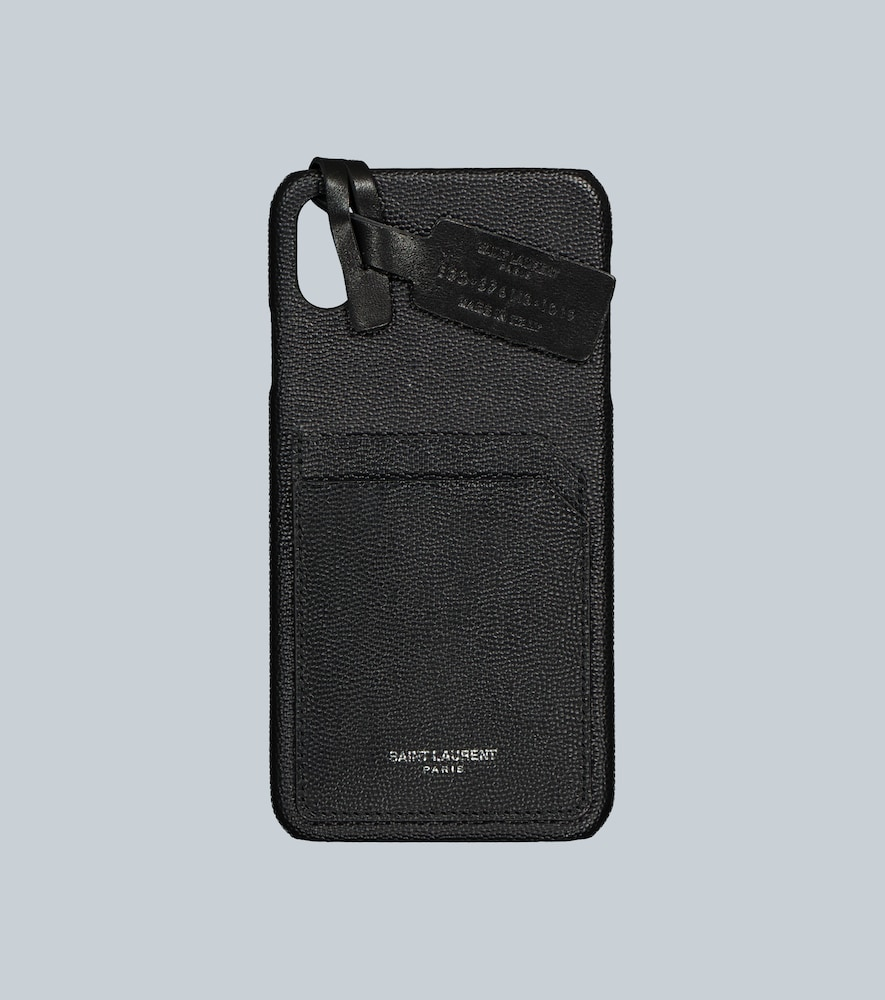 Leather iPhone XS Max case