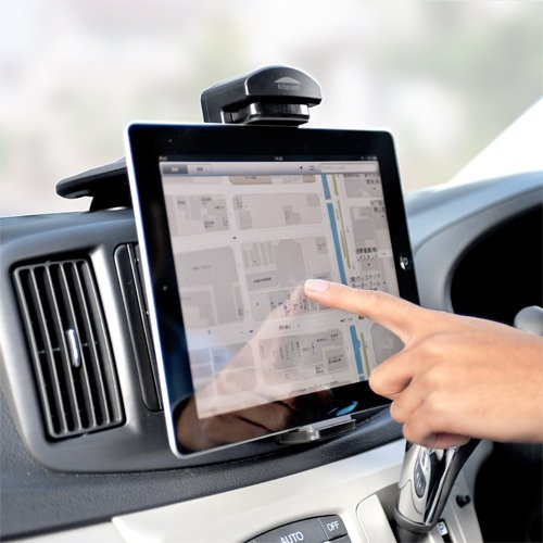 平板電腦車架【多動向可調整 直上儀錶板】可夾120~162 mm平板電腦 韓國製