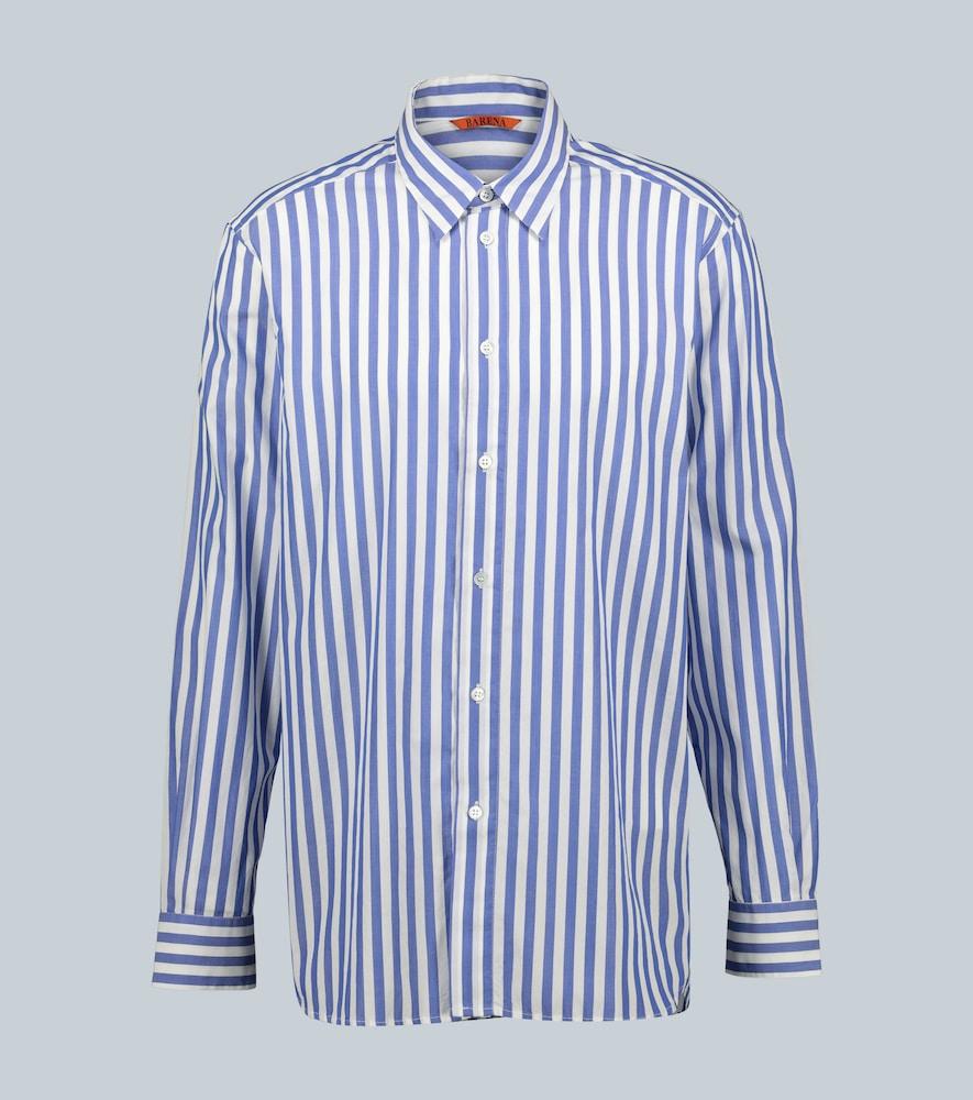 Sirone Nauta striped cotton shirt