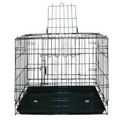MIT台灣製    高級靜電烤漆摺疊籠2尺  雙門折合式犬貓籠 兔籠