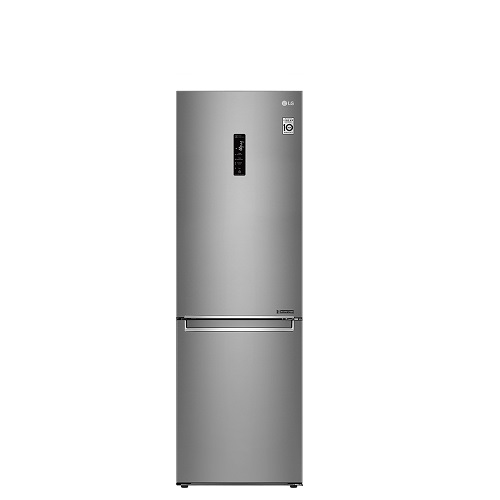 LG  GW-BF389SA  343L晶鑽格紋銀 WiFi 直驅變頻上下門冰箱