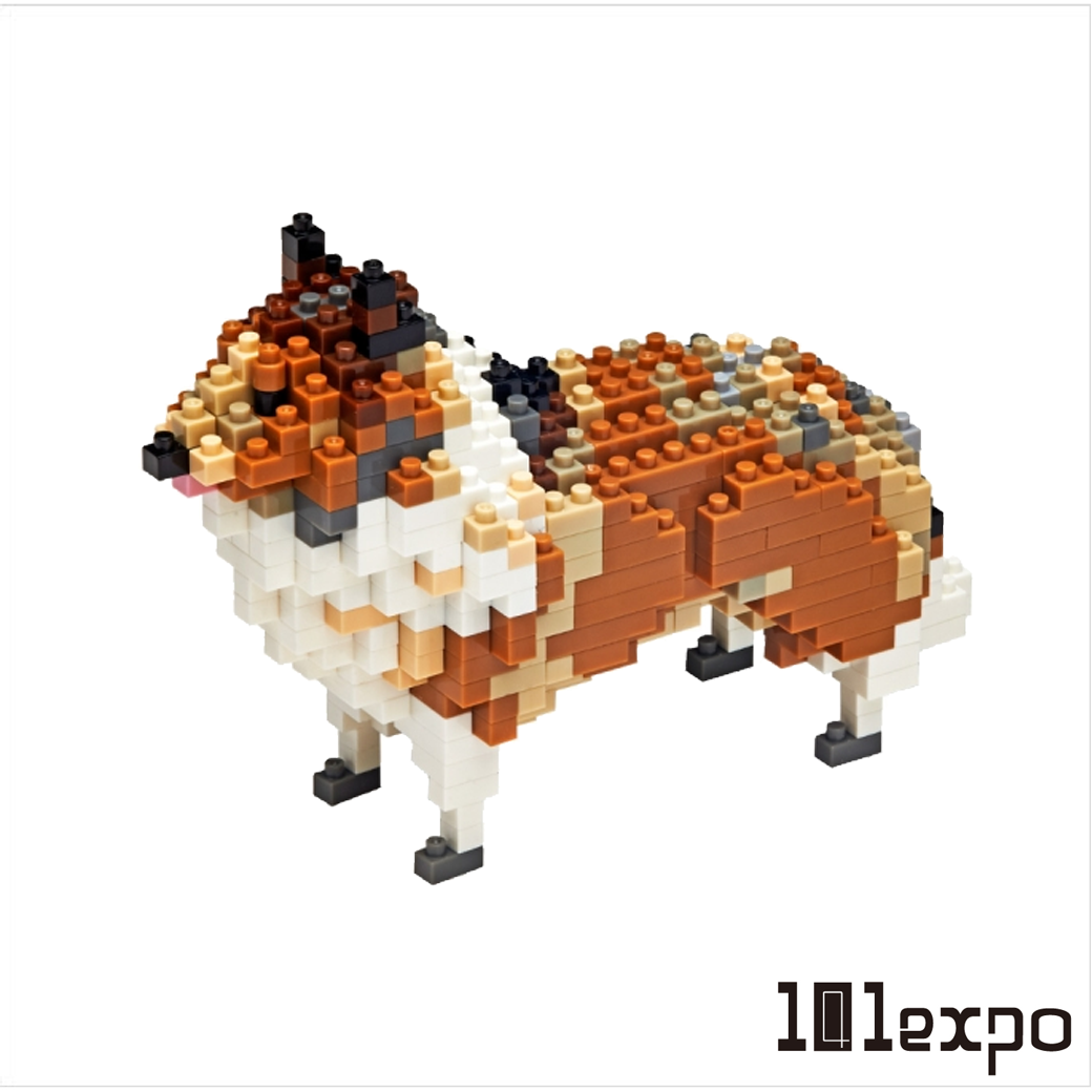 TICO 動物微型積木- 可麗牧羊犬