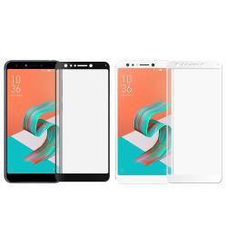 【SHOWHAN】ASUS ZenFone 5Q(ZC600KL)2.5D 電競級霧面滿版滿膠鋼化玻璃貼 兩色可選