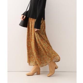 【イエナ/IENA】 ウィンターフラワーギャザースカート