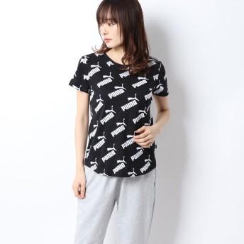 プーマ PUMA レディース 半袖Tシャツ AMPLIFIED AOP Tシャツ 582811