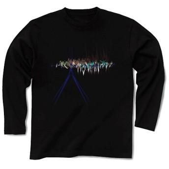 HUMANITY◆アート◆ロゴ◆ヘビーウェイト◆長袖◆ロング◆Tシャツ◆ブラック◆各サイズ選択可