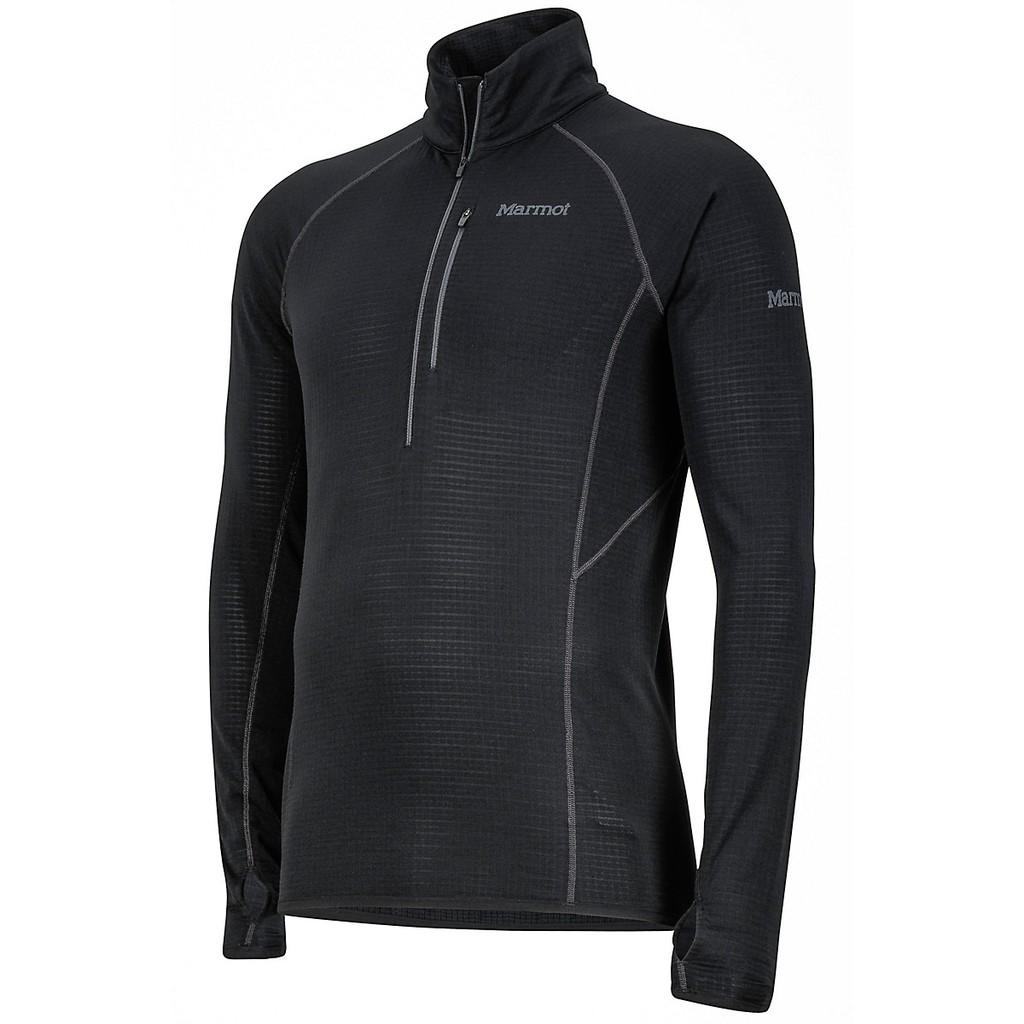 Marmot 多色可選 男 保暖半門襟排汗衣 刷毛 Neothermo 1/2 Zip 中層衣 登山 立領 84610