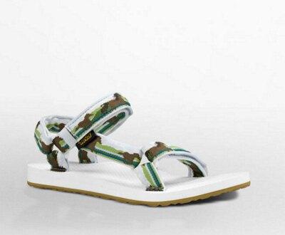 零碼25CM【陽光樂活】TEVA  女款水陸運動涼鞋  女生涼鞋 TV1003987HSGR