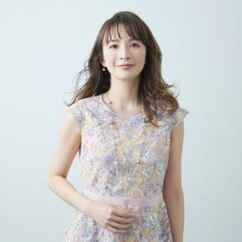 ローズティアラ(Rose Tiara)/【舞川あいくさん着用】ケミカルレースワンピース