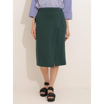 【6,000円(税込)以上のお買物で全国送料無料。】ZIPタイトスカート