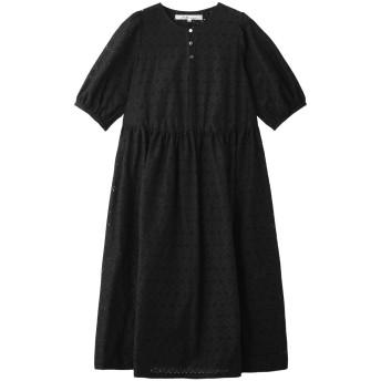 Bilitis dix-sept ans ビリティス・ディセッタン アイレットレースドレス ブラック