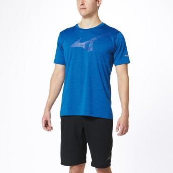 MIZUNO SHOP [ミズノ公式オンラインショップ] Tシャツ[メンズ] 25 トゥルーブルー杢 32MA0015