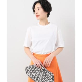 VERMEIL par iena 【SLOANE/スローン】コットン天竺Tシャツ ホワイト S