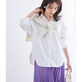【ロペ マドモアゼル/ROPE madmoiselle】 【洗える】ハイパワーブロードビッグシャツ