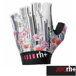 ZeroRH+ 義大利實花系列專業自行車手套(白色) ECX9102_49P