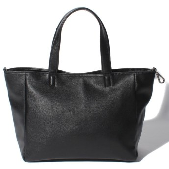 (MOUSSY(BAG)/マウジー バッグ)【MOUSSY】LOGO PUNCHING BASIC NEW TOTE M M01-1-00086/レディース BK