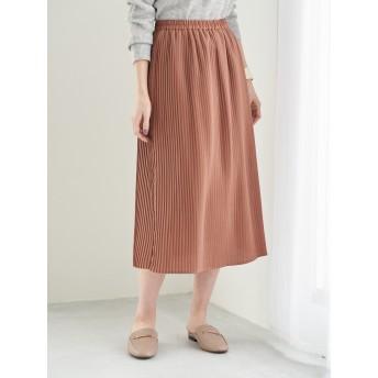 【6,000円(税込)以上のお買物で全国送料無料。】ミニプリーツジョーゼットスカート