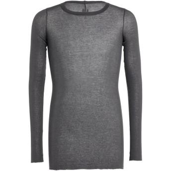 《セール開催中》RICK OWENS メンズ T シャツ 鉛色 S コットン 100%