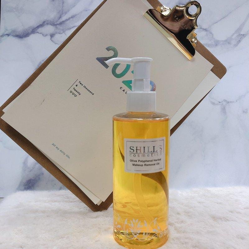 SHILLS 橄欖多酚植物清爽卸妝油