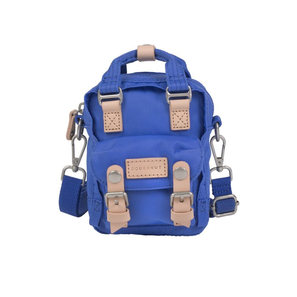 Doughnut 馬卡龍Tiny側背包-鈷藍【官方授權】ibaobao愛包包