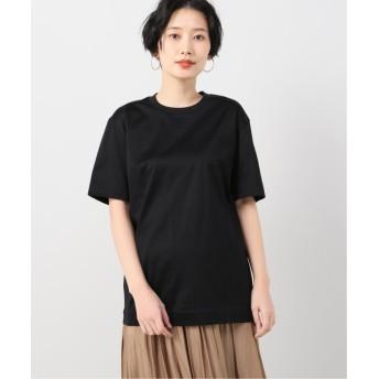 イエナ コットン天竺Tシャツ レディース ブラック XS 【IENA】