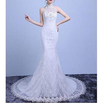 高級ウェディングドレス豪華なウェディングドレス結婚式プライド花嫁パーティー披露宴