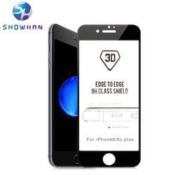 【SHOWHAN】iPhone6/6s美國玻璃材質9H鋼化3D曲面玻璃保護貼
