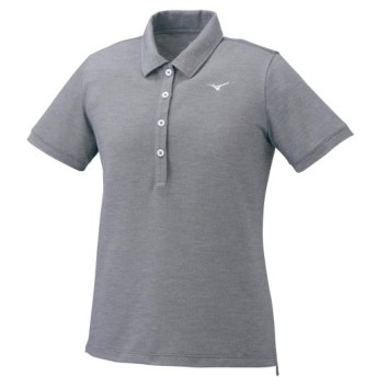 MIZUNO SHOP [ミズノ公式オンラインショップ] ポロシャツ[レディース] 05 グレー杢 32MA0380