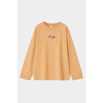 マウジー TRAVELLER LS Tシャツ レディース L/ORG1 FREE 【MOUSSY】