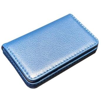 ASHDZ ビジネスカードホルダー、革の男性と女性ハイエンドのビジネスカードボックス、ポータブル名刺パッケージ、カードパッケージ大容量[簡易版] (色 : 7#)