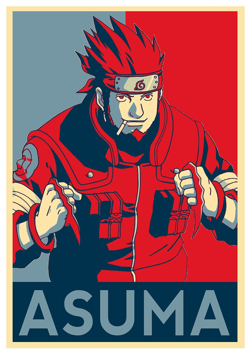 Poster Bleach Propaganda Ichigo Formato A3 42x30 cm