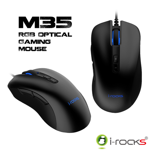 irocks M35 RGB 光磁微動滑鼠