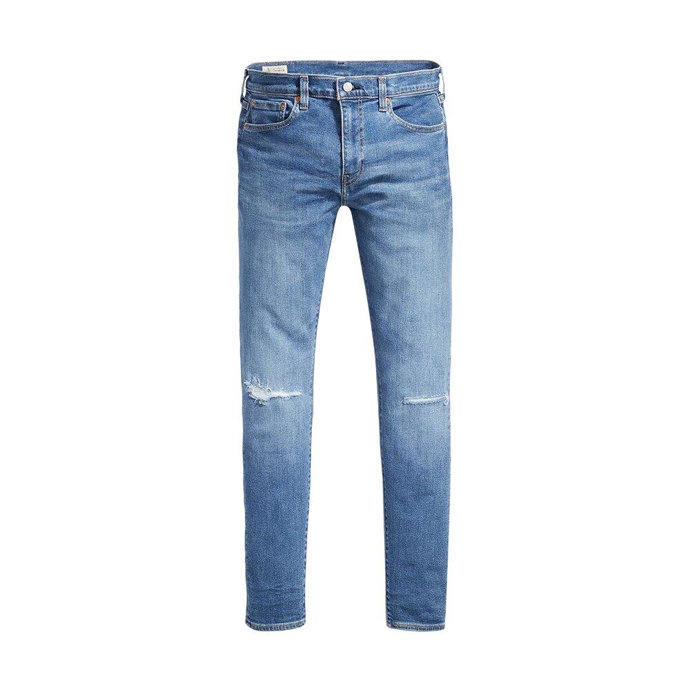 Levis 男款 上寬下窄 / 512低腰修身窄管牛仔褲 / FLEX超彈力布料 / 刷破-CO