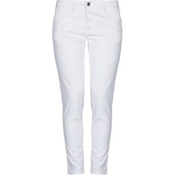 《セール開催中》COLMAR レディース パンツ ホワイト 40 コットン 97% / ポリウレタン 3%