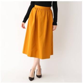 【ドレステリア/DRESSTERIOR 】 タックギャザー グログランスカート
