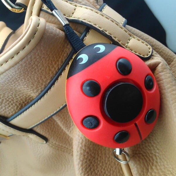 警報器 小瓢蟲超大125分貝警報聲 (附手電筒照明功能)