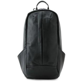 ジュンレッド afecta SMOOTH BAG PACK LEATHER メンズ ブラック(01) F 【JUNRed】