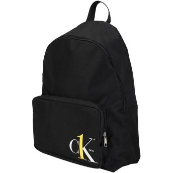 《セール開催中》CALVIN KLEIN JEANS メンズ バックパック&ヒップバッグ ブラック ポリエステル 100% CK ONE - CK1 CAMPUS BP45