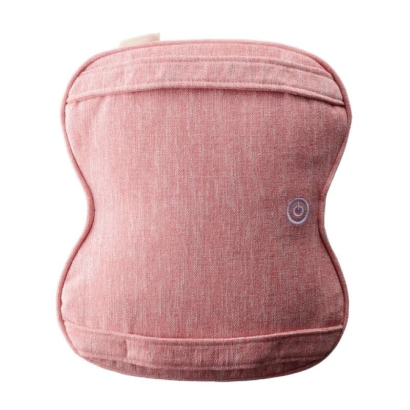 Lourdes 日式溫熱揉捏薄型按摩抱枕 粉色 AX-HCL258spk