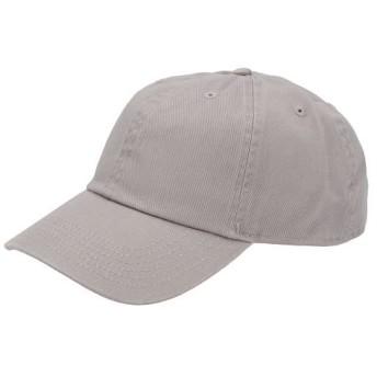 バックヤードファミリー NEWHATTAN ニューハッタン #1400 stonewash Baseball Caps solid メンズ グレー キャップ 【BACKYARD FAMILY】