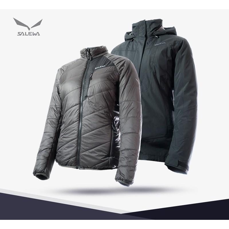 女用兩件式 Gore tex 保暖外套 25010 【義大利 SALEWA】