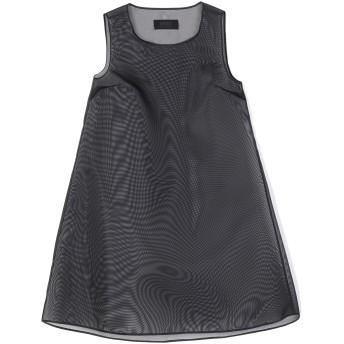 《セール開催中》MM6 MAISON MARGIELA レディース ミニワンピース&ドレス ブラック 38 ナイロン 100%