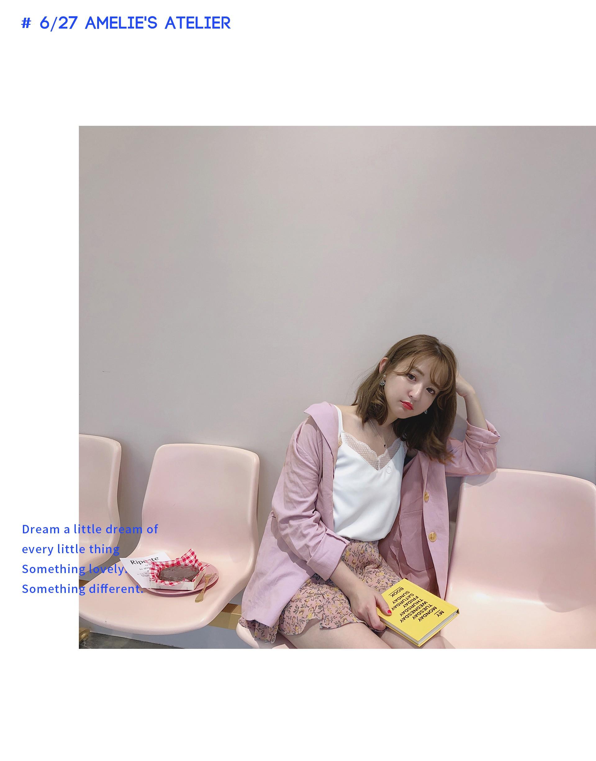 PAZZO+韓妞LOOK棉麻西裝外套