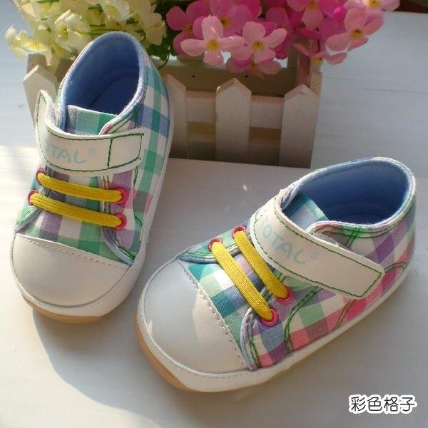 氣質格紋 清新格紋 彩色格子 軟膠底學步鞋.童鞋.室內鞋 橘魔法現貨 嬰兒 兒童 小童 男童【p0061187172554】