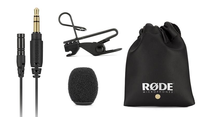 【中壢NOVA-水世界】RODE LAVALIER GO 領夾式麥克風 含防風罩 可對應Wireless GO 公司貨