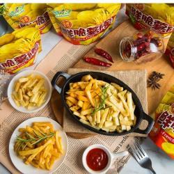 台灣上青 鮮脆薯條 ;麻辣*3 香辣*3 燒烤*3 蜂蜜*3 原味*3 椒鹽味*3 番茄*3 -21包組