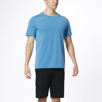 MIZUNO SHOP [ミズノ公式オンラインショップ] Tシャツ[メンズ] 18 ライトブルー 32MA0023