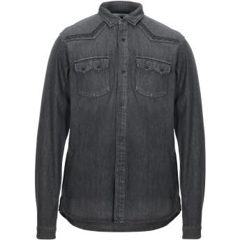 《セール開催中》WHITE MOUNTAINEERING メンズ デニムシャツ ブラック 2 コットン 100%