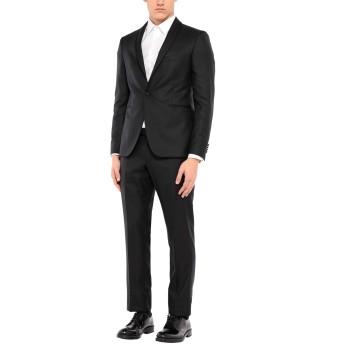 《セール開催中》TAGLIATORE メンズ スーツ ブラック 52 バージンウール 76% / ポリエステル 24%