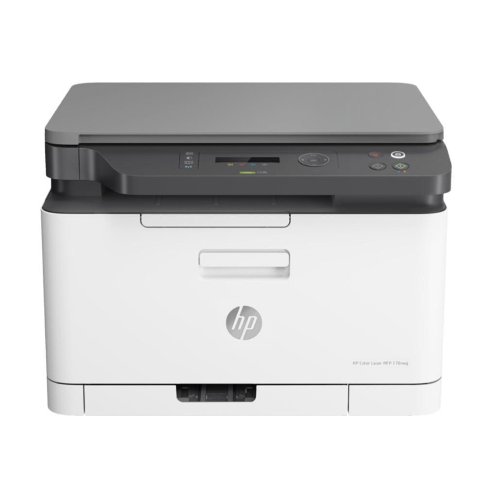 現貨HP 178nw 彩色雷射複合機 列印 影印 掃描 無線 三合一(4ZB96A)